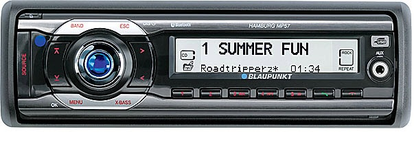 blaupunkt hamburg mp57 45w max mp3 radio rikosat. Black Bedroom Furniture Sets. Home Design Ideas